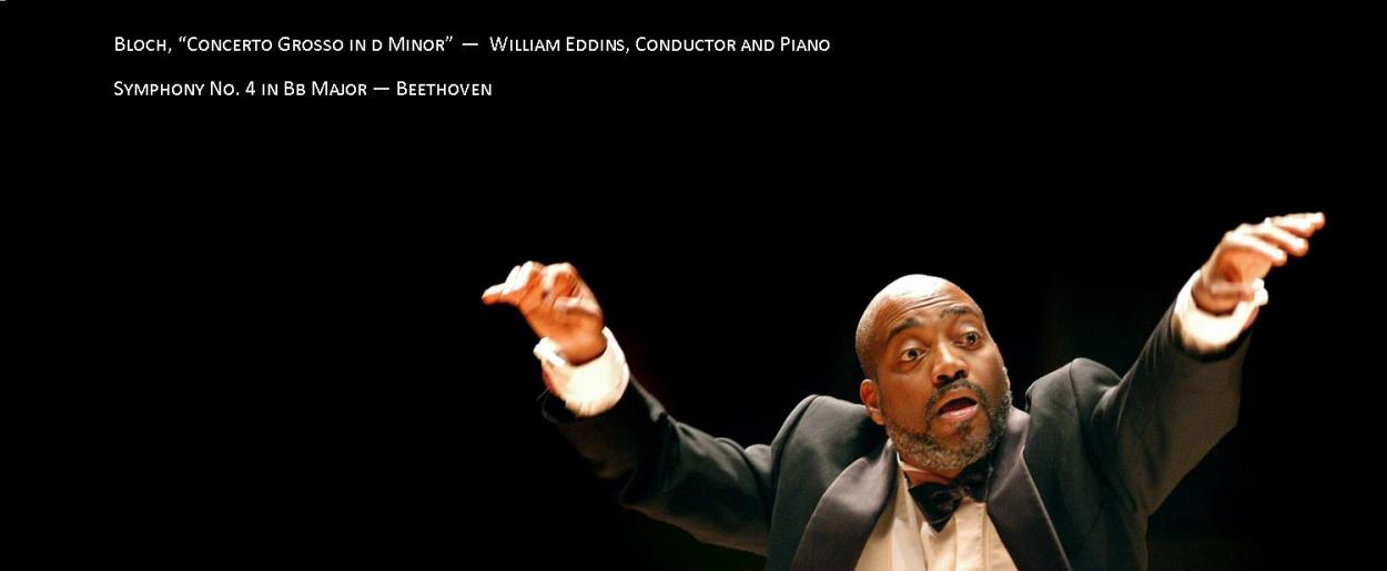 William Eddins Guest Conductor and pianist July 24