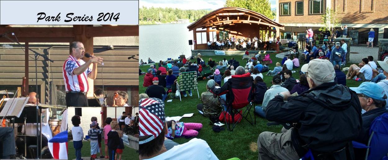 Park Concerts Summer 2014