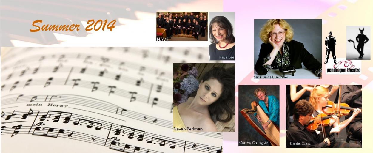 2014 Summer series concerts
