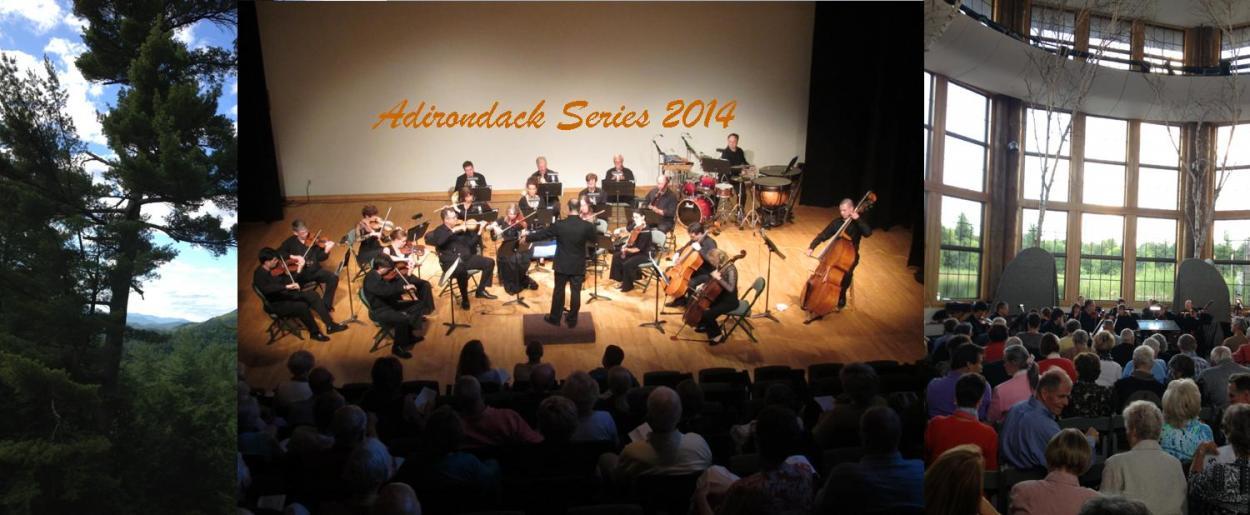 Adirondack Series concerts 2014